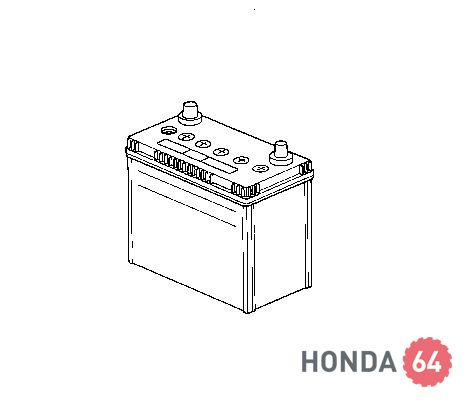 Аккумулятор Honda Accord7, Civic 4D/5D